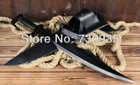 Free shipping Film Stainless steel spartan warriors sword knife