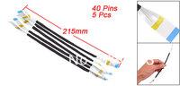5 Pcs 40 Pin AWM 20624 80C 60V VW-1 Power Ribbons Flexiable Flat Cable