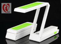24 led Fashion Folding Design white led desk lamp,high power eyes-protection led reading lamp free shipping