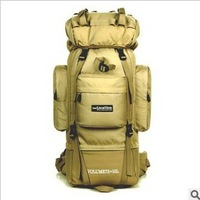 Direct manufacturers, 85L bracket with mountaineering bags, outdoor backpack, Waterproof backpack