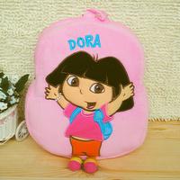 Free Shipping Dora Backpack, The Explorer Mr Face Plush Children SchoolBag Purple Toddler