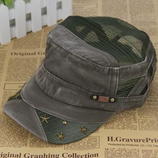 Cadet cap hat for man mesh hat spring and summer hiphop baseball cap truck cap truck