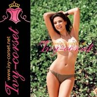 Free Shipping!Design Sexy Swimsuit Swimwear Beachwear Bikini Set beach bikini with floral bra Y3024