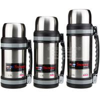 Stainless steel vacuum wide mouth pot thermos bottle insulation pot thermos bottle travel pot travel pot