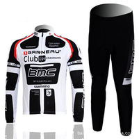 2014 New Hot BMC Racing Team jersey long-sleeved suit spring and autumn cycling clothing cycling clothes HW010 Free Delivery
