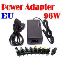 by dhl or ems 50 pieces 96W Universal Laptop Notebook AC Charger Power Adapter With EU Plug Free Shipping