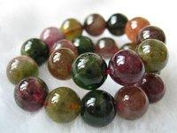 Natural tourmaline bead bracelet 22g girlfriend birthday present gifts