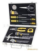 Genuine high-grade household gifts Reid 18pc Aluminum Tool Box 019018