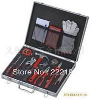 Genuine high-grade household gifts Reid 20pc household tool kit aluminum box 019020