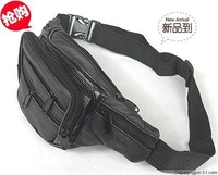Compact Genuine Reall Leather Belt Waist Bag Fanny Pack Top Quality Free Shipping