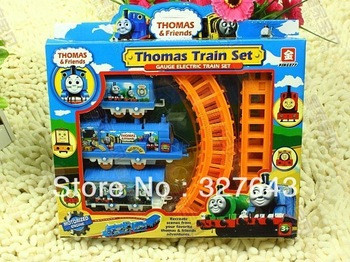 Thomas electric rail train Thomas & Friends Mini electric train set track toy for Kids best sell