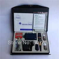 Free shipping 1case tattoo machine kit-blue sunshine permanent makeup machine kit with Battery box