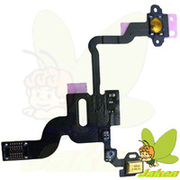Power On/Off Button Switch/Proximity Light Sensor Flex Cable Replacement Repair Parts For iPhone 4 4G,50PCS/Lot,Free Shipping