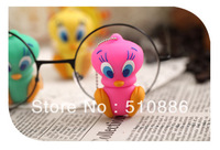 Retail Genuine 4G/8G/16G/32G USB 2.0  Memory Stick Flash Drive Pen cute silicone  plastic Pink  duck animal  cartoon Freeship