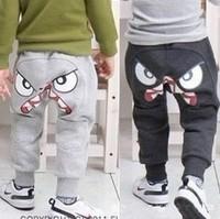free shipping retail boy's Harem Pants,boy's trousers with bird eyes,boy harem trousers