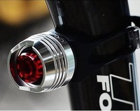 mountain bike warning ruby rear light aluminum alloy bicycle lights