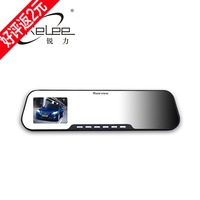 Car car rearview mirror driving recorder 1080p hd wide angle night vision