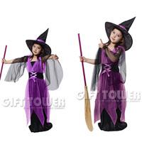 Halloween child costume hardcover child set gauze female costumes  kids party costumes,free shipping