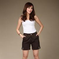 Plus size fashion mm 100% cotton duan single-shorts ku plus size clothing pants
