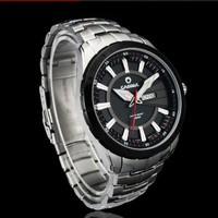 Top brand  the hour date week function quartz watch watches men sports Best Gift  for men  designer men jewelry