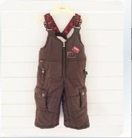 Girls Denim Overalls Denim Overalls for Children Retail Winter And Children's Ski Pants Strap Trousers free Shipping In Stock