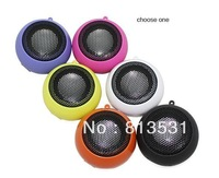 6 kinds of color Mini Portable hamburger Mobile Phone/ Computer  3.5mm DC speaker +500ma U.S. plug  USB charger