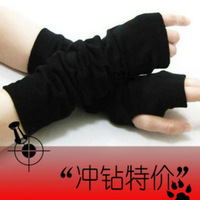 Gloves lovers ultra long semi-finger lucy refers to the arm long design sunscreen gloves