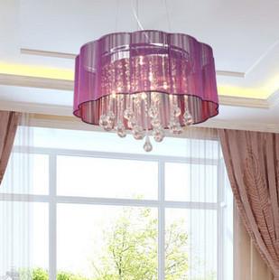 Bar pendant light bedroom pendant light restaurant lamp wire pendant light crystal pendant light modern brief crystal lamp