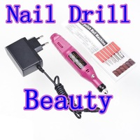 Pen Shape Electric Nail Art Salon Manicure Pedicure Drill File Polish Tool Set freeshipping