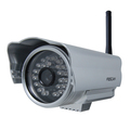 Foscam IR-CUT Wireless IP Camera FI8904W Wide-Angle Night-Vision Smartphone-View
