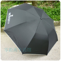 Golf umbrella plus size lovers umbrella wool handle umbrella