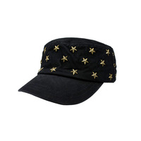 2013 trend five-pointed star cadet cap hat 100% cotton personalized fashion military hat adjustable Free shipping