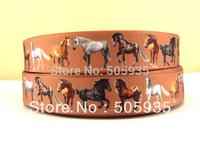 50Y5185 7/8'' ribbon hairbows printed ribbon freeshipping