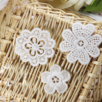 30 PCS Free Shipping LA139 High Quality DIY Venice Embroidery Flower Applique Lace Patches