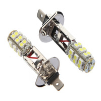 Free Shipping 2x NEW PROMOTION Car H1 HID Xenon White 25 SMD LED Bulb Head Light Lamp