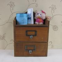 zakka desktop storage box drawer wool  miscellaneously drawer cabinet