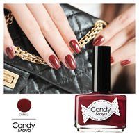 Moyo candy film jade breakfast Maroon the temptation white color nail polish oil cmw52 diy nail art