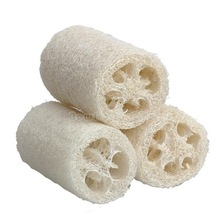 3x Natural Loofah Luffa Loofa Bath Body Shower Sponge Scrubber Large Size NI5L(China (Mainland))