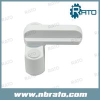 Free Shipping Small Aluminium Alloy White Single Dot Window Handle
