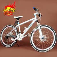 26 mountain bike transmission for bicycle double disc shock absorption fork mountain bike bicycle cross country bike