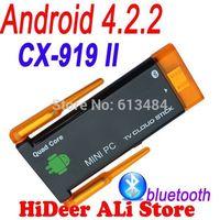 google tv stick CX-919II CX-919 II Dual WIFi antenna Stronger signal CX-919 Quad core android Mini PC 2GB RAM 8GB ROM