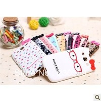 New Brand Cartoon Leopard Pattern Hello kitty TPU Soft cover Flowers Kitty Case for Samsung Galaxy S3 i9300 Free shipping