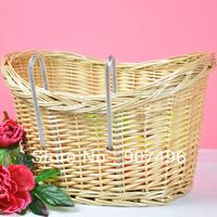 Best Selling!! Bicycle basket / bike basket / pastoral car basket / bicycle willow baskets