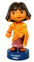 Free Shipping New year gift hot-selling dora doll dolls dora explorer doll cartoon anime  India girl game