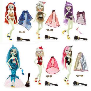 модные куклы игрушки серебристые пластиковые куклы