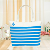 2013 Summer New Fashion Women Handbag Woman Selling Minimalist Navy Canvas bag / Shoulder Bag Free Shipping