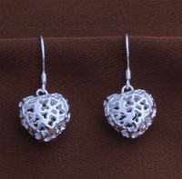 Hot Free Shipping Wholesale Silver Fashion Jewelry Earring.Silver Earrings. Earring.Super Price  YAE156