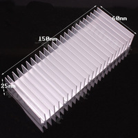 60x150x25mm High Quality Aluminum Heat Sink for LED and Power IC Transistor H148