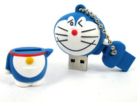 Free shipping Doraemon USB Flash drive 2GB 4GB 8GB 16GB 32GB cartoon Pen Drive Thumb pendrive drop shipping