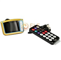 """Hot Selling 1.8"""" LCD Wireless FM Transmitter Car MP3 MP4 Player Modulator With USB SD MMC Slot Remote Control Function"""